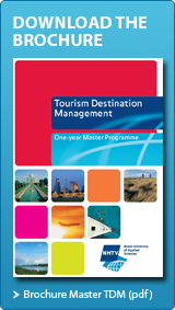 Download brochure of NHTV Master in Tourism Destination Management
