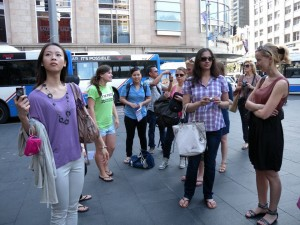 NHTV, Master in Tourism Destination Management students in Sydney