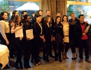 Master in Tourism Destination Management graduates - January 2013