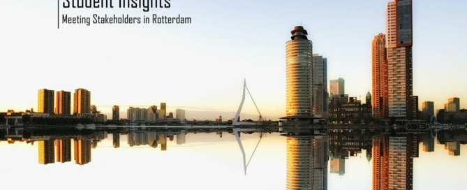 Meeting stakeholders in Rotterdam